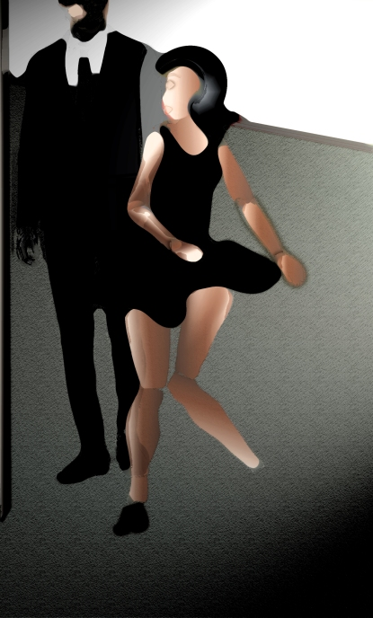 dancing at the party
